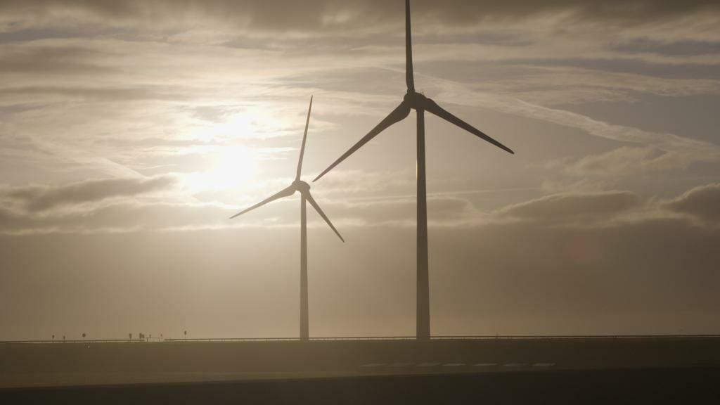 Drone inspectie windmolens