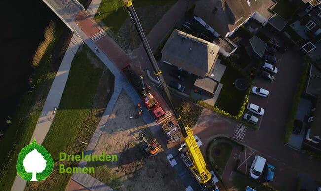 bedrijfsvideo drone