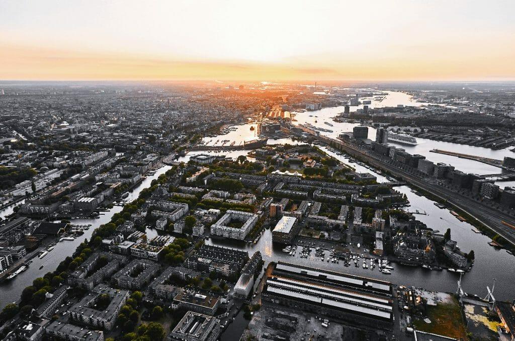 Luchtfotograaf Amsterdam