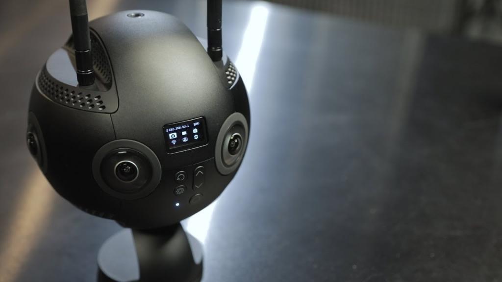 360 graden VR drone opnames
