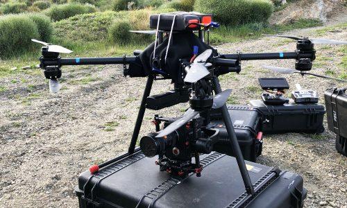 X8 heavylifter drone