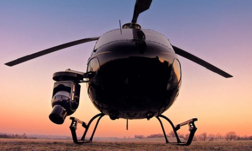 Helikopter cineflex camera